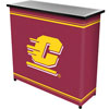 Central Michigan University� 2 Shelf Portable Bar w/ Case