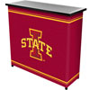 Iowa State University™ 2 Shelf Portable Bar w/ Case
