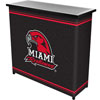 Miami University, Ohio� 2 Shelf Portable Bar w/ Case