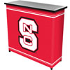 North Carolina State™ 2 Shelf Portable Bar w/ Case