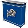 United States Naval Academy™ 2 Shelf Portable Bar w/ Case