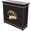 Western Michigan University� 2 Shelf Portable Bar w/ Case