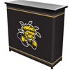 Wichita State University™ 2 Shelf Portable Bar w/ Case