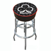 Four Aces Club Logo Padded Bar Stool - Made In USA