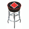 Four Aces Diamond Logo Padded Bar Stool - Made In USA