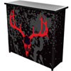 Hunt Skull 2 Shelf Portable Bar w/ Case