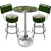 Hunt Camo Gameroom Combo 2 Stools w/ Back & Table