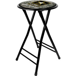 U.S. Army Digital Camo 24 Inch Cushioned Folding Stool