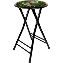 U.S. Army Symbol 24 Inch Cushioned Folding Stool