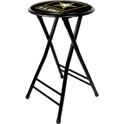 U.S. Army 24 Inch Cushioned Folding Stool
