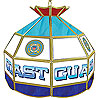United States Coast Guard Stained Glass Billiard Lamp