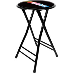 NASCAR 24 Inch Cushioned Folding Stool