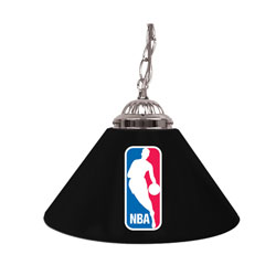 NBA Logo Single Shade Bar Lamp - 14 inch