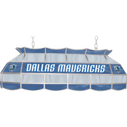 Dallas Mavericks NBA 40 Inch Stained Glass Lamp