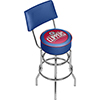 Los Angeles Clippers NBA Padded Swivel Bar Stool with Back