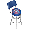 Philadelphia 76ers NBA Padded Swivel Bar Stool with Back