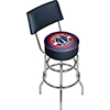 Washington Wizards NBA Padded Swivel Bar Stool with Back
