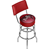 Chicago Bulls NBA Hardwood Classics Bar Stool w/ Back