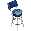Charlotte Hornets NBA Hardwood Classics Bar Stool w/ Back
