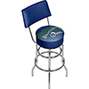 Dallas Mavericks NBA Hardwood Classics Bar Stool w/ Back