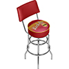 Houston Rockets NBA Hardwood Classics Bar Stool w/Back