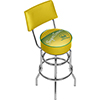 Seattle Super Sonics Hardwood Classics Bar Stool w/Back