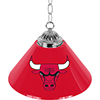 Chicago Bulls Single Shade Bar Lamp - 14 inch