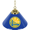 Golden State Warriors NBA Single Shade Bar Lamp - 14 inch
