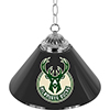Milwaukee Bucks NBA Single Shade Bar Lamp - 14 inch