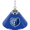 Memphis Grizzlies NBA Single Shade Bar Lamp - 14 inch
