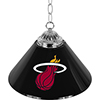 Miami Heat NBA Single Shade Bar Lamp - 14 inch