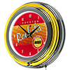 Houston Rockets Hardwood Classics NBA Ring Neon Clock