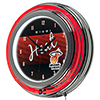 Miami Heat Hardwood Classics NBA Chrome Neon Clock