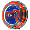 New York Knicks Hardwood Classics NBA Chrome  Neon Clock