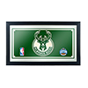 Milwaukee Bucks NBA Framed Logo Mirror