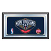 New Orleans Pelicans NBA Framed Logo Mirror