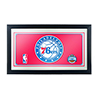 Philadelphia 76ers NBA Framed Logo Mirror