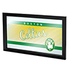 Boston Celtics Hardwood Classics NBA Framed Logo Mirror