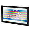 Denver Nuggets Hardwood Classics NBA Framed Logo Mirror