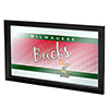 Milwaukee Bucks Hardwood Classics NBA Logo Mirror