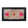 Chicago Bulls Official NBA Court Framed Plaque