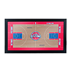 Detroit Pistons Official NBA Court Framed Plaque