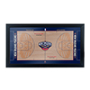 New Orleans Pelicans  Official NBA Court Framed Plaque