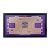 Sacramento Kings Official NBA Court Framed Plaque