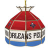 New Orleans Pelicans NBA 16 Inch Stained Glass Lamp