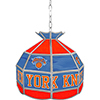 New York Knicks NBA 16 Inch Stained Glass Lamp