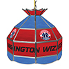 Washington Wizards NBA 16 Inch Stained Glass Lamp