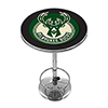 Milwaukee Bucks NBA Chrome Pub Table