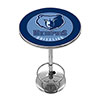 Memphis Grizzlies NBA Chrome Pub Table