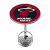 Miami Heat NBA Chrome Pub Table